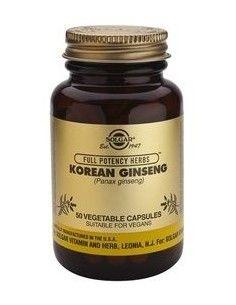 ginseng coreano (panax ginseng) 520 mg. 50 cápsulas vegetales