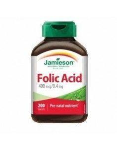 ÁCIDO FÓLICO 400 mcg. 200 comprimidos