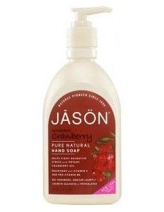 Jabón de manos y cara cranberry Satin Soap 500ml.