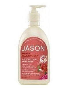 Jabón de manos y cara Rosewater Satin Soap 473ml.