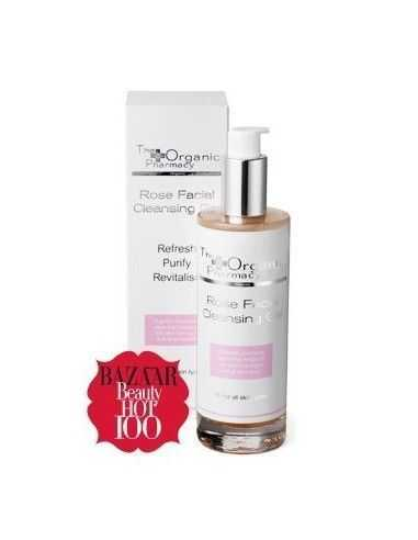 Gel facial limpiador de Rosa