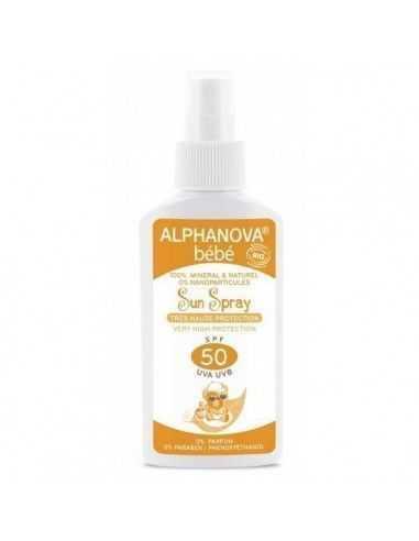 Protector Solar Spray Alphanova Bebé Bio 50