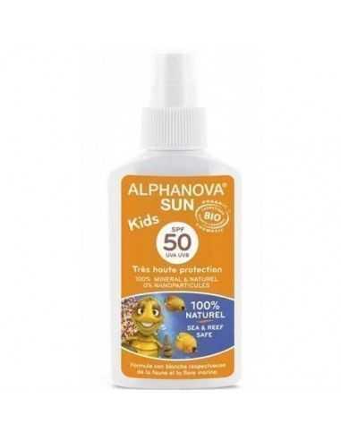 Protector Solar 50 Facial y corporal Kids Alphanova