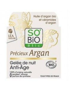 Crema de Noche Precièux Argan - So'bio Étic