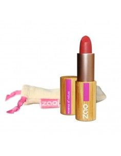Barra de Labios Mate Rose Rouge Zao Makeup 464