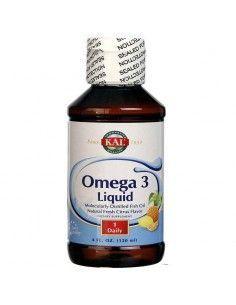OMEGA 3  líquido sabor limón 120 ml KAL-SOLARAY
