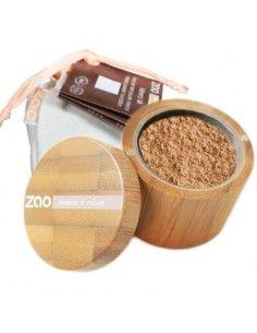 Polvos Seda Mineral Beige Claro 502 ZAO