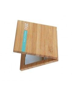 Zao Makeup Espejo imantado de bambú