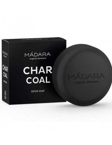 Jabón Detox CHARCOAL 90 gr Madara NEW