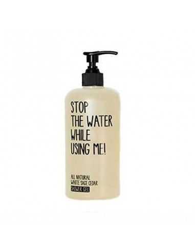 Gel de ducha corporal de Salvia Blanca y Cedro 500 ml Stop The Water