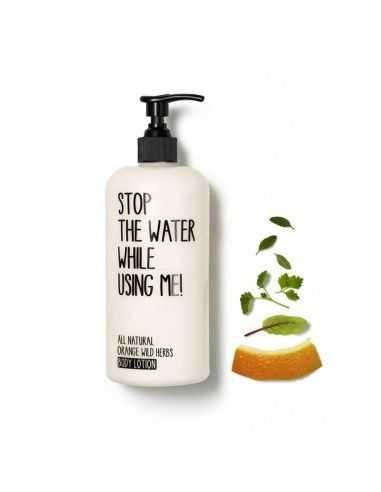 Gel Ducha Naranja y Hierbas salvajes Stop The Water 200 ml