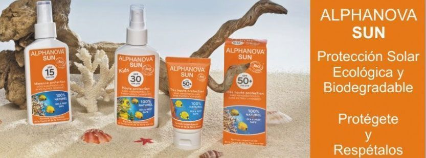 Alphanova Sun Protectores Solares certificados